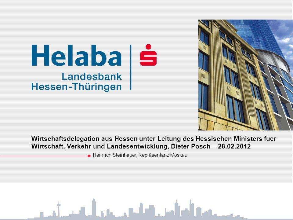 Wirtschaftsdelegation aus Hessen unter Leitung des Hessischen Ministers fuer Wirtschaft, Verkehr und Landesentwicklung, Dieter Posch – 28.02.2012 Hein