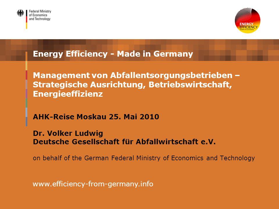 Energieeffizienz in komplexen Anlagen Bildquelle: DGAW e.V.