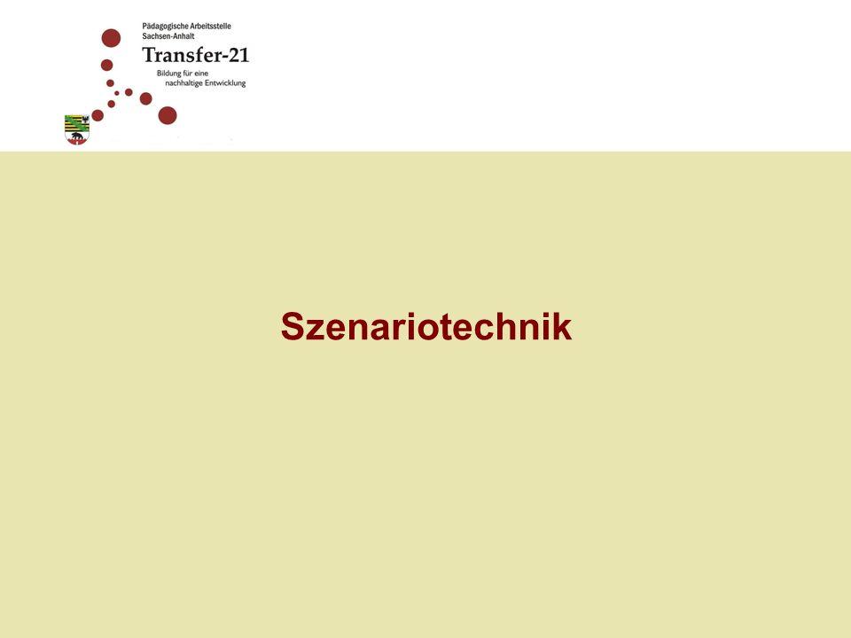 Szenariotechnik ist eine Methode der strategischen Planung, die auf der Entwicklung und Analyse möglicher Entwicklungen der Zukunft beruht.