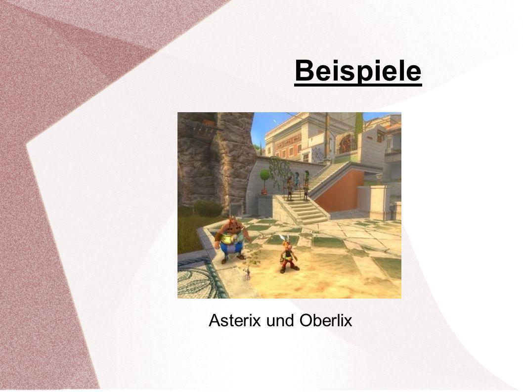 Beispiele Asterix bei den Final Fantasy Tactics A2 Olympischen Spielen Asterix und Oberlix
