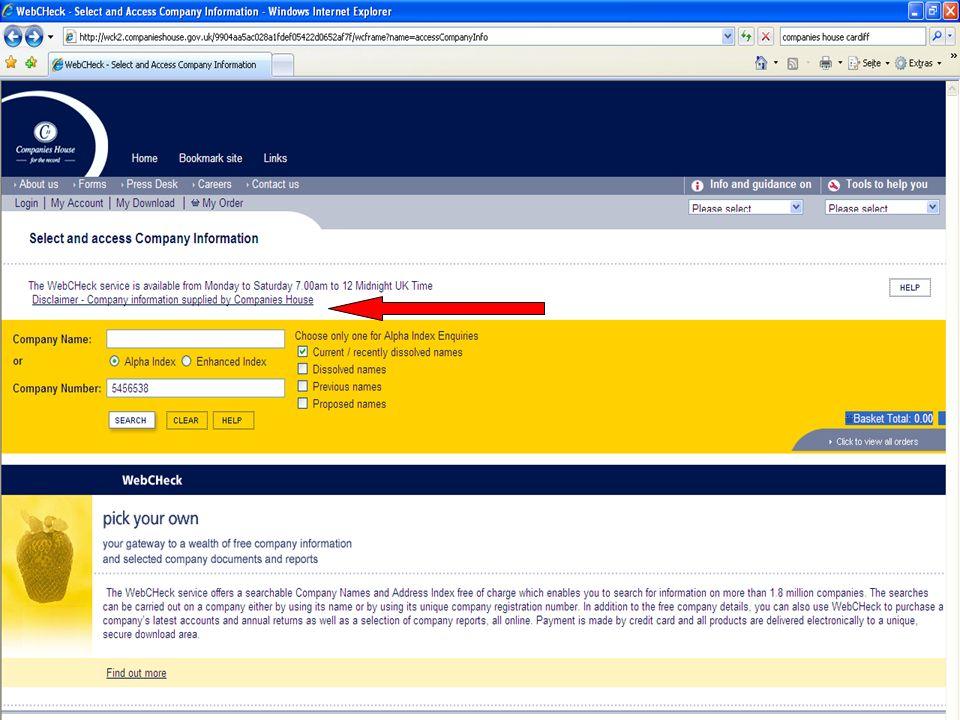 Aktuelle Probleme des Handelsregisterrechts AZN Limited, WebCHeck, 2