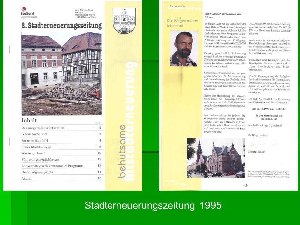 Stadterneuerungszeitung 1995