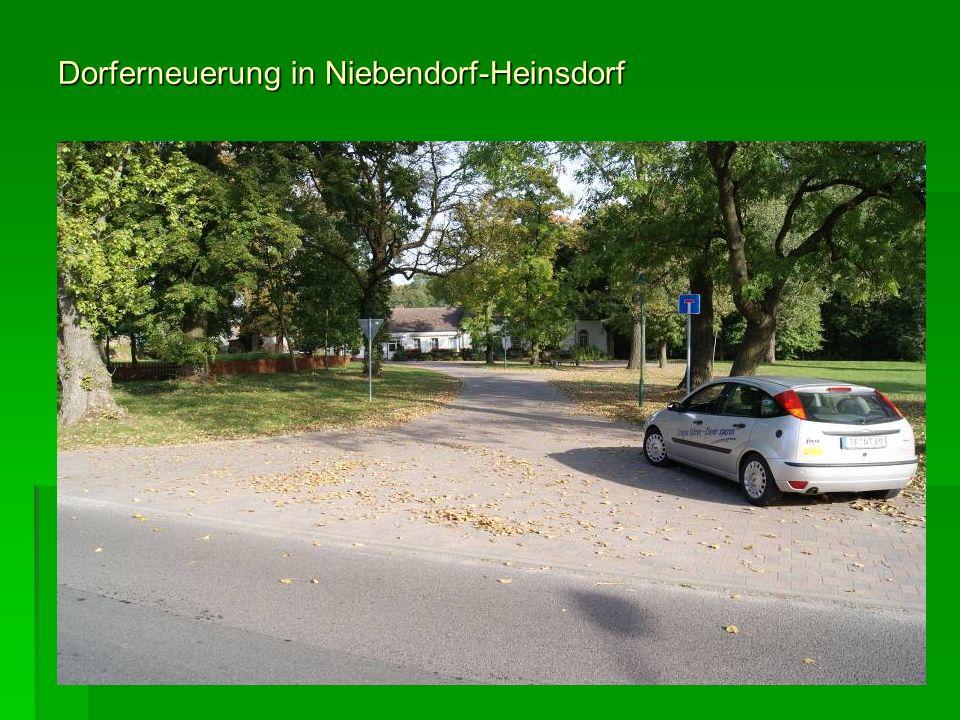 Dorferneuerung in Niebendorf-Heinsdorf