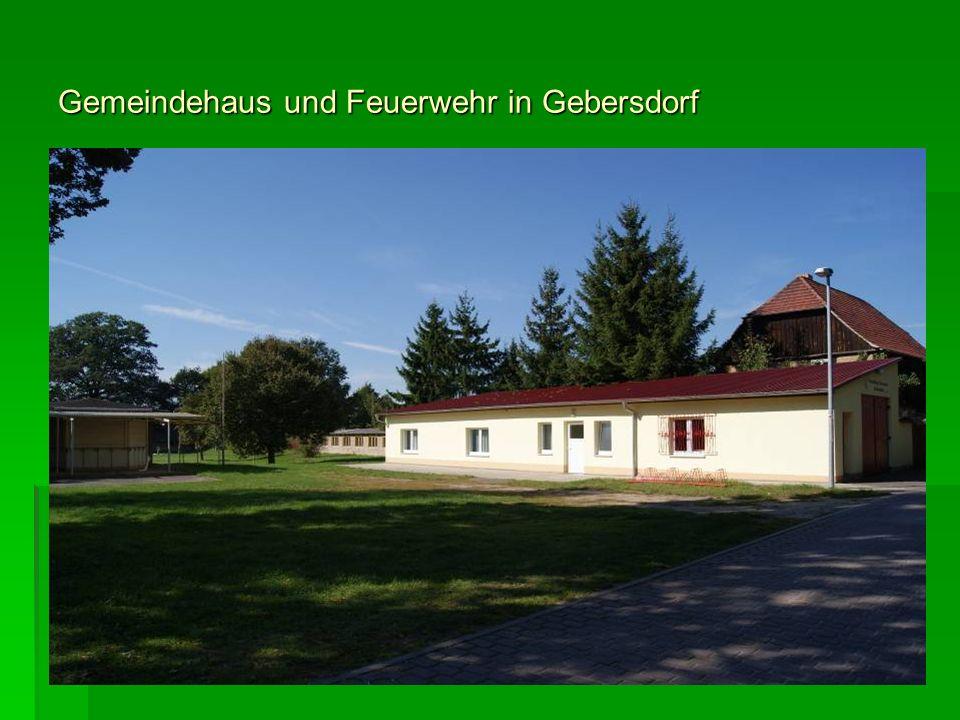 Gemeindehaus und Feuerwehr in Gebersdorf