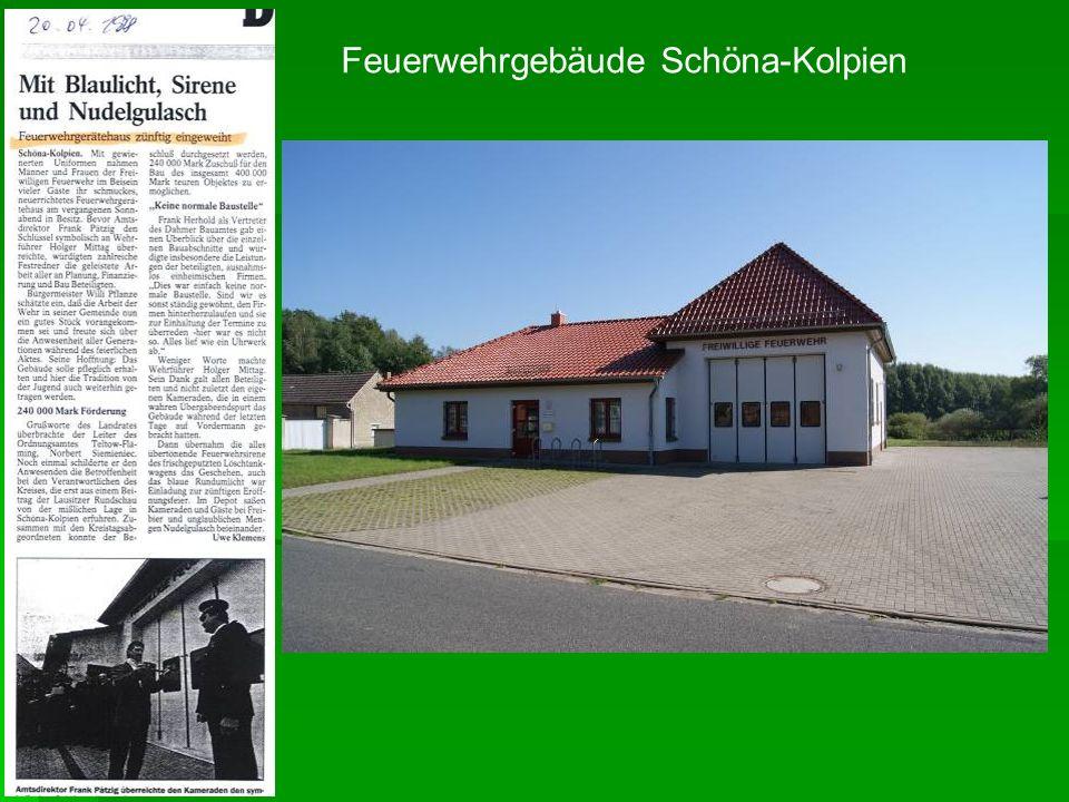 Feuerwehrgebäude Schöna-Kolpien