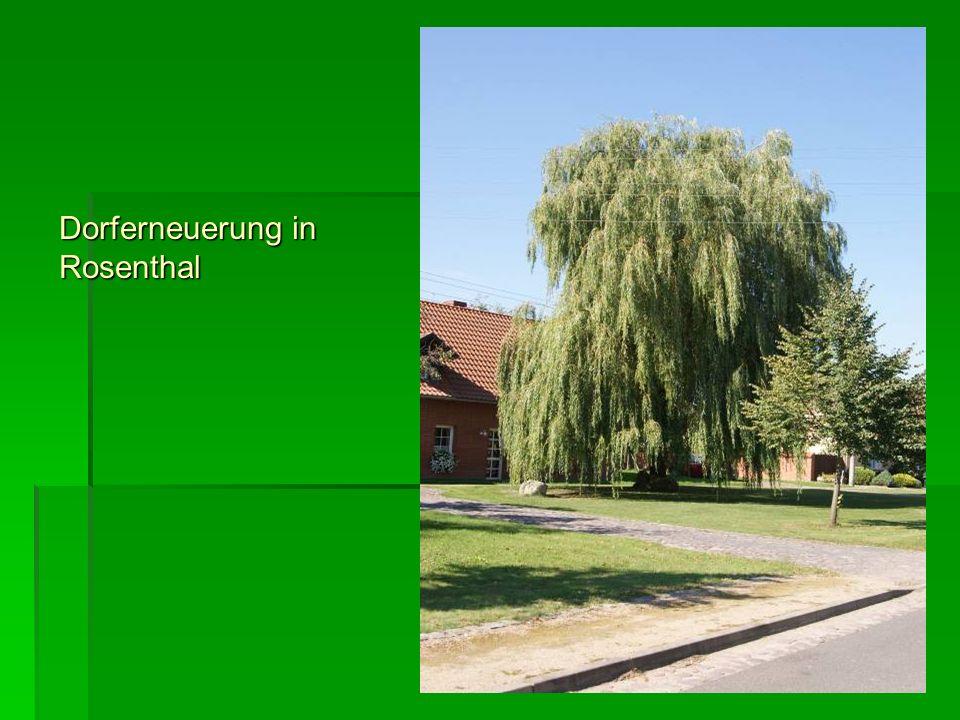 Dorferneuerung in Rosenthal