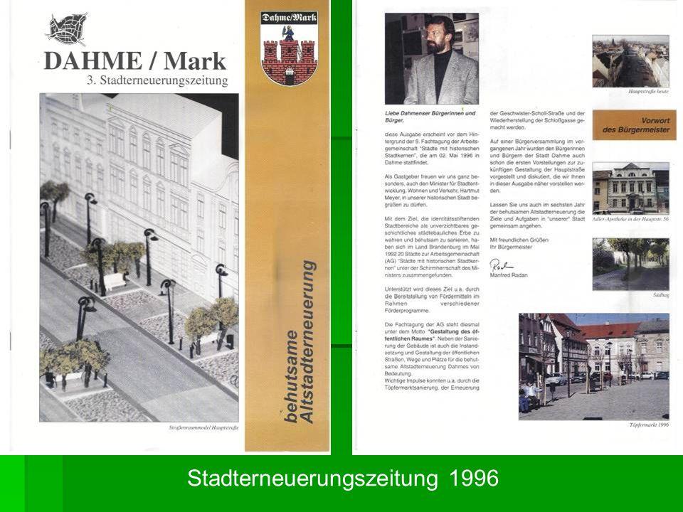 Stadterneuerungszeitung 1996