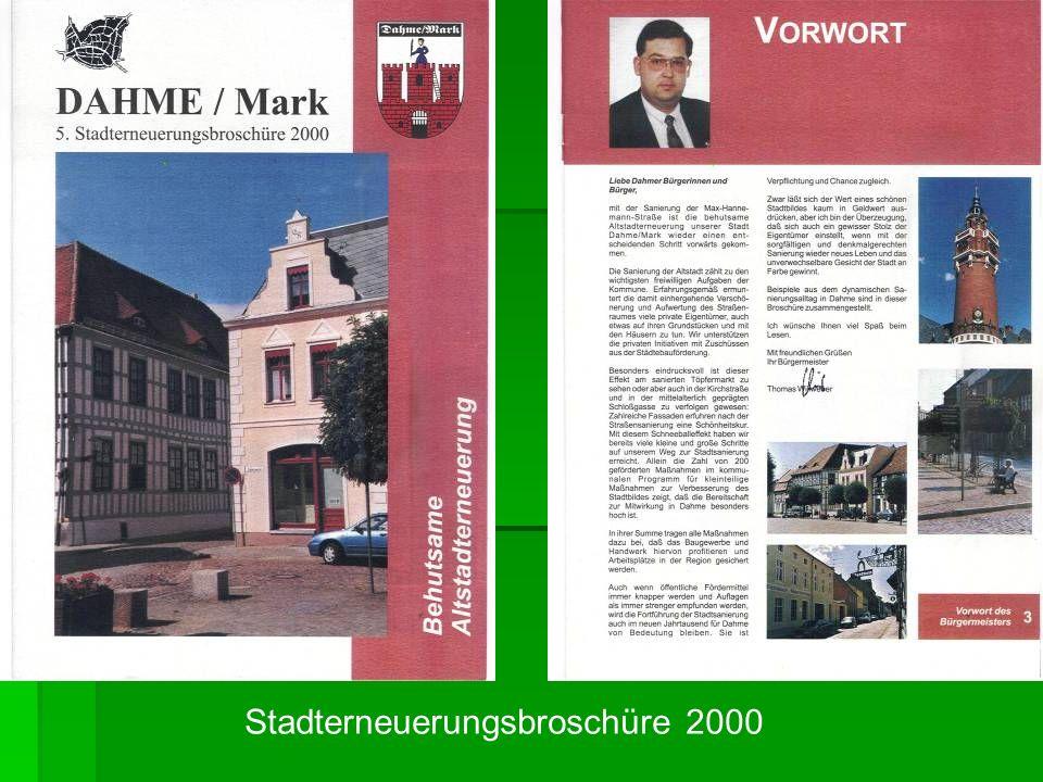 Stadterneuerungsbroschüre 2000