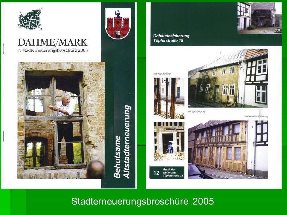Stadterneuerungsbroschüre 2005
