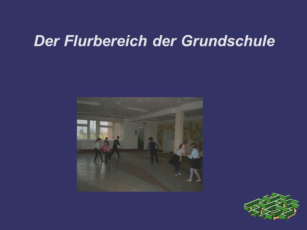 Der Flurbereich der Grundschule