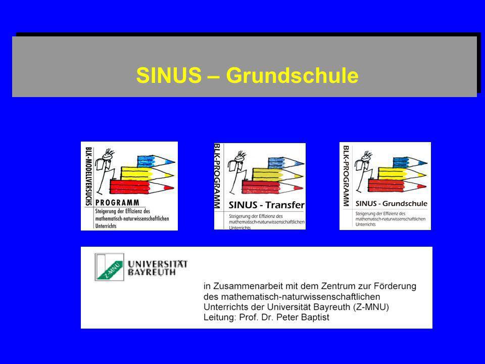 SINUS – Grundschule