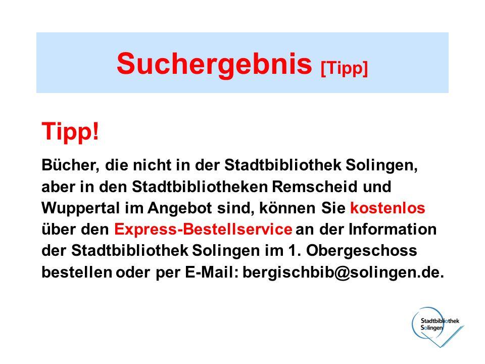 Suchergebnis [Tipp] Tipp! Bücher, die nicht in der Stadtbibliothek Solingen, aber in den Stadtbibliotheken Remscheid und Wuppertal im Angebot sind, kö
