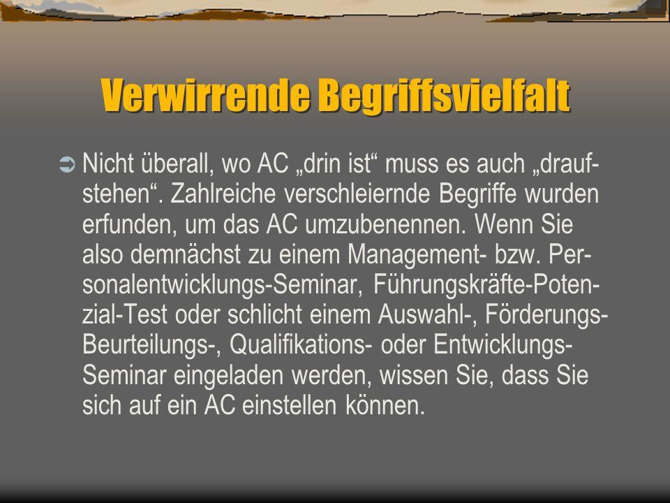 Die Anwender Kaum ein großer Name in der deutschen Wirt- schaft, der nicht mit AC herumlaboriert: AEG, Allianz-Lebensvers., Bayer, Hypo-Vereinsbank, B