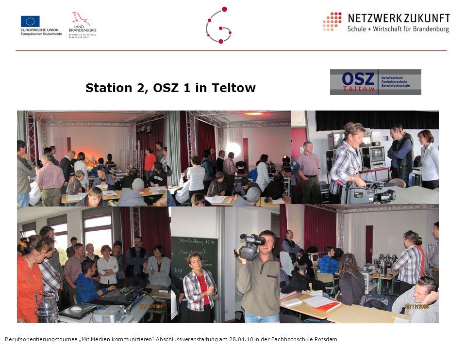 Station 2, OSZ 1 in Teltow