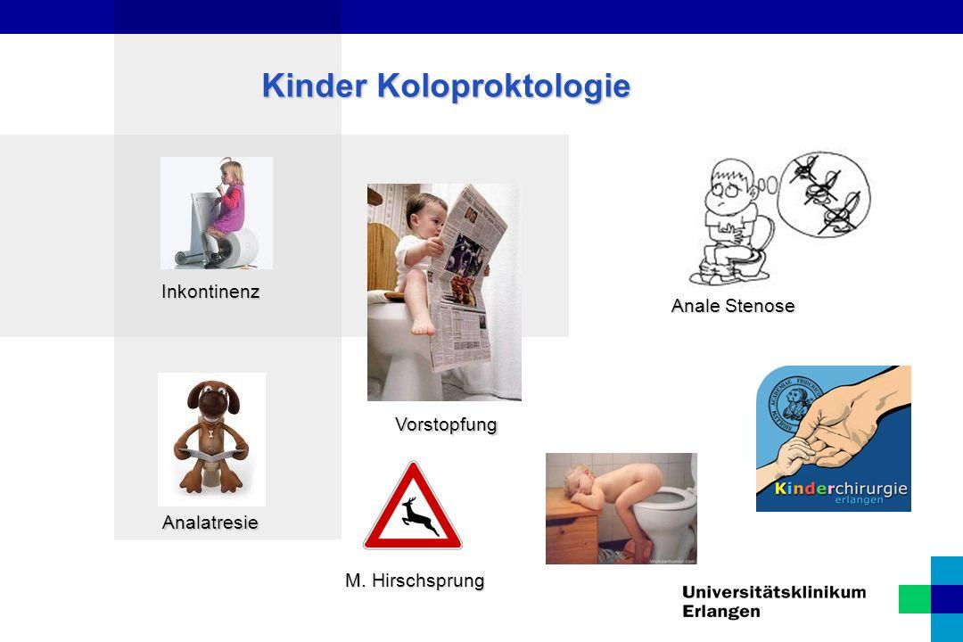 Kinder Koloproktologie Chronische Obstipation Verstopfung Wenn Kinder nicht von selbst auf Toilette können oder nur selten und mit großer Mühe, spricht man von chronischer Verstopfung (Obstipation).