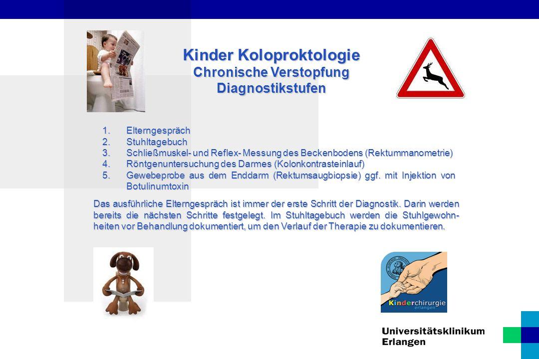 Kinder Koloproktologie Analstenose Eine Analstenose kann unterschiedliche Ursachen haben.