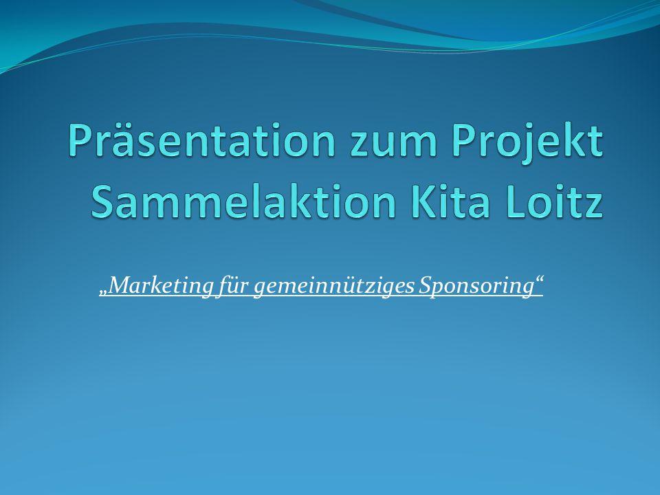 Marketing für gemeinnütziges Sponsoring