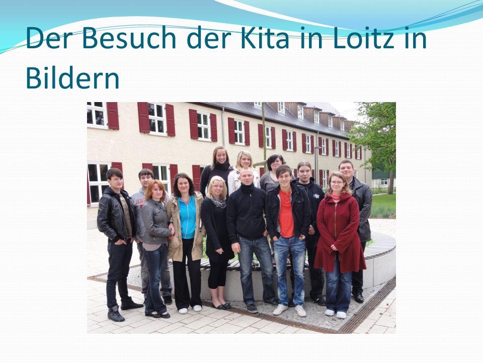 Der Besuch der Kita in Loitz in Bildern