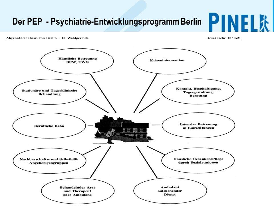 2 Der PEP - Psychiatrie-Entwicklungsprogramm Berlin