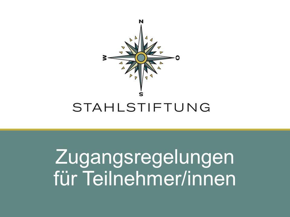 14 / Dobesberger / BRV / 01.12..09 Zugangsregelungen für Teilnehmer/innen