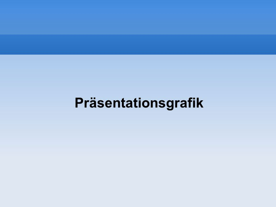 Führende Standardsoftware zur Erstellung von Präsentationen Gehört zu Microsoft Office-Programm–gruppe Microsoft-PowerPoint Open Impress (frei, kostenlos) Gehört zum Open Office-Programm–gruppe