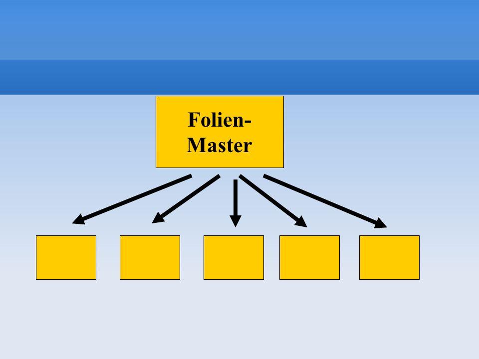 Folien- Master