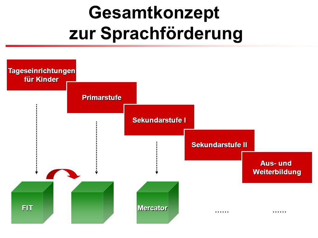 FIT – Frühkindliches Integrations Training Sprachförderung im Elementar- und Primarbereich (bis einschließlich 2.
