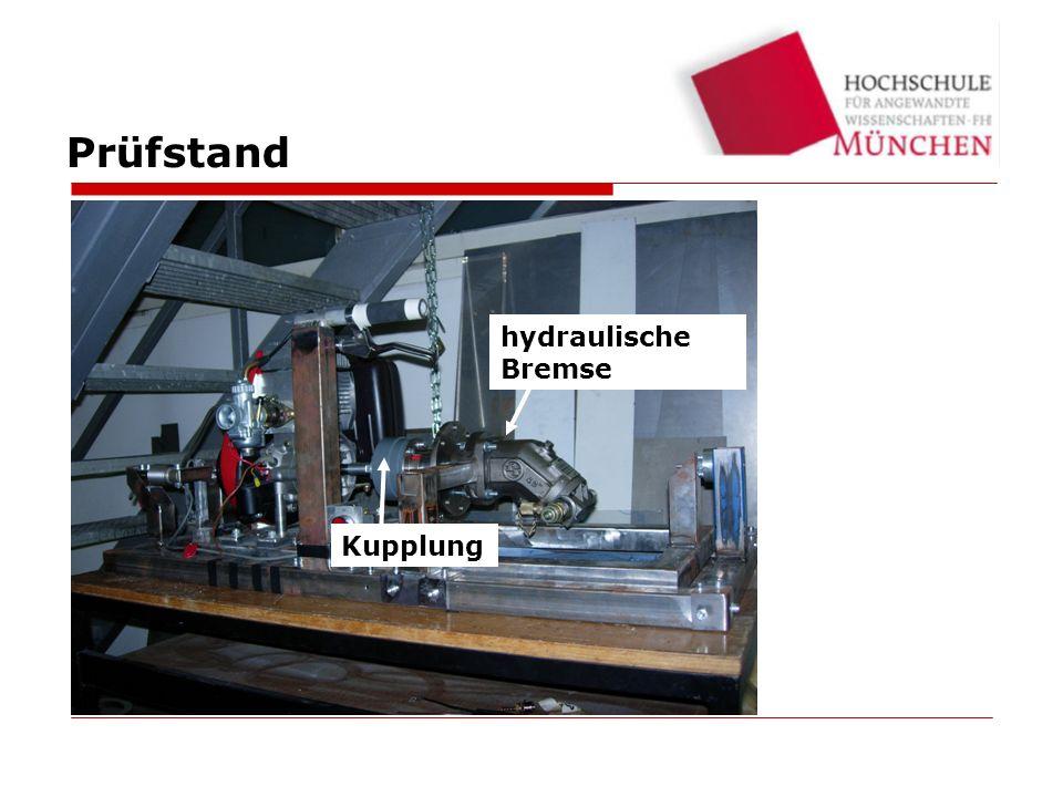Testbed Kupplung hydraulische Bremse Prüfstand