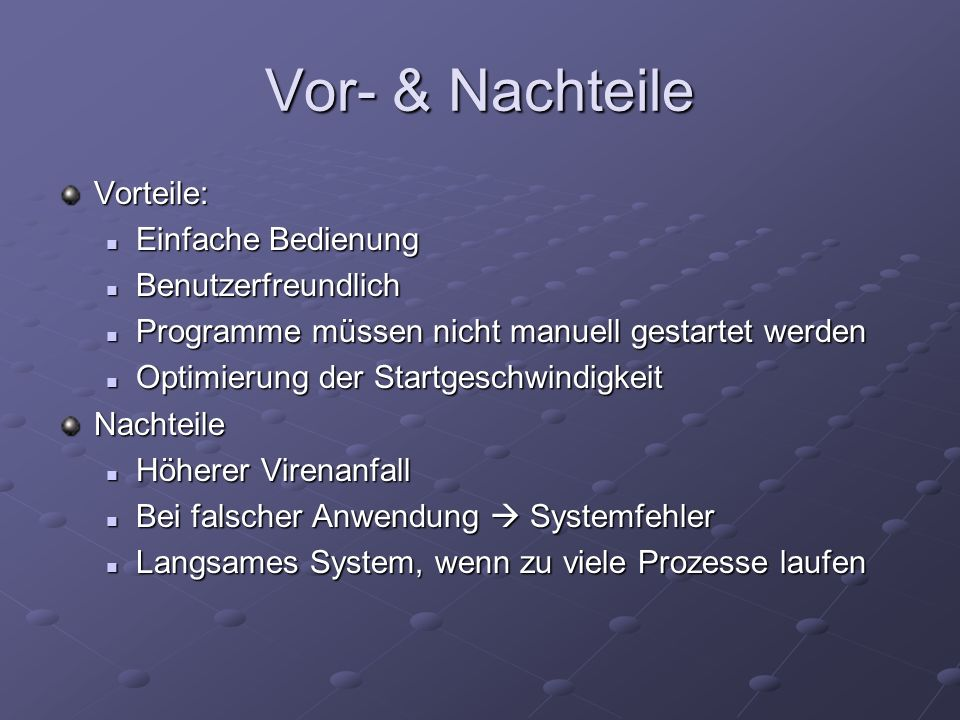 Autostart Ordner Alle Programme / Dateien im Autostart Ordner werden beim Systemstart ausgeführt