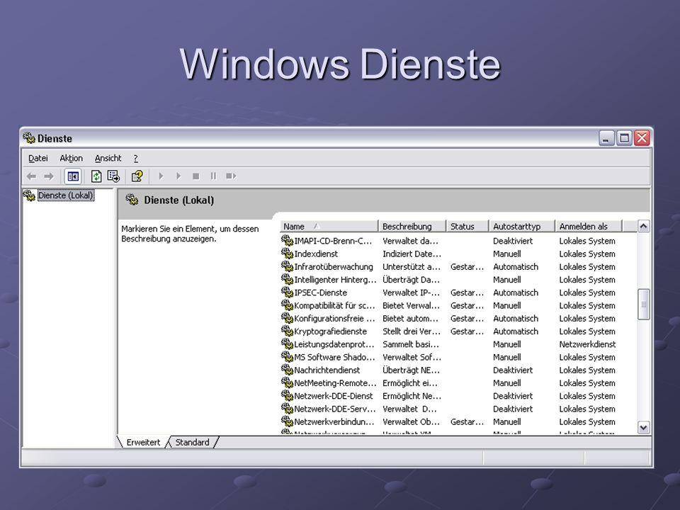 Autorun.inf beim Einlegen von CDs/ DVDs oder USB-Sticks wird nach autorun.inf gesucht wird nach autorun.inf gesucht Anwendung startet automatisch