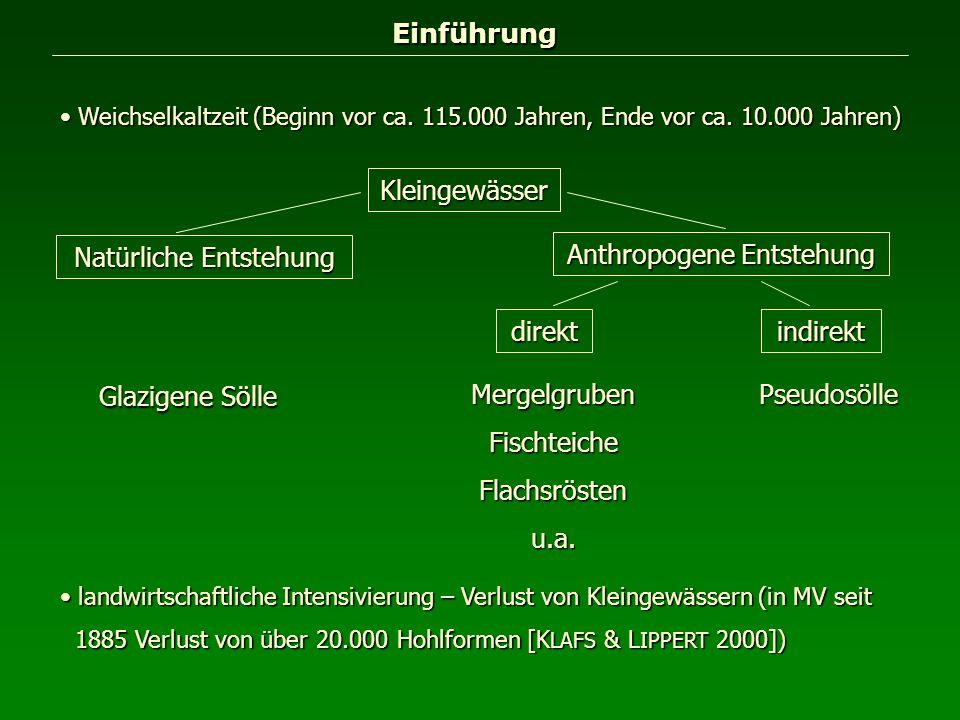 Einführung Weichselkaltzeit (Beginn vor ca. 115.000 Jahren, Ende vor ca. 10.000 Jahren) Weichselkaltzeit (Beginn vor ca. 115.000 Jahren, Ende vor ca.