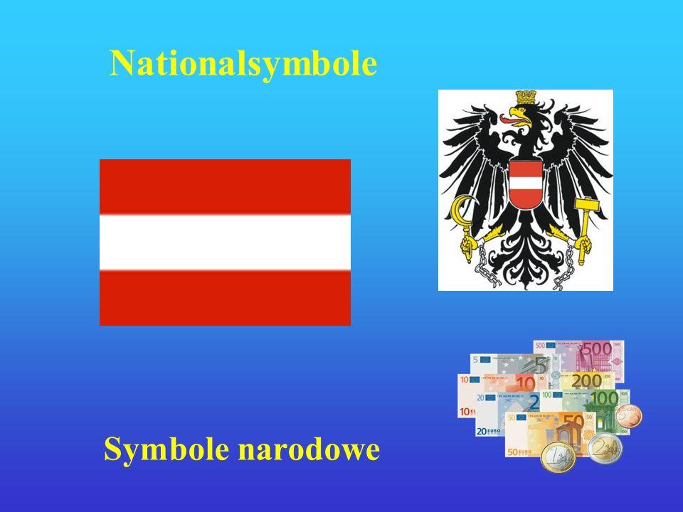 Lage Położenie Österreich liegt in Mitteleuropa und hat eine Fläche von 84.000 km².