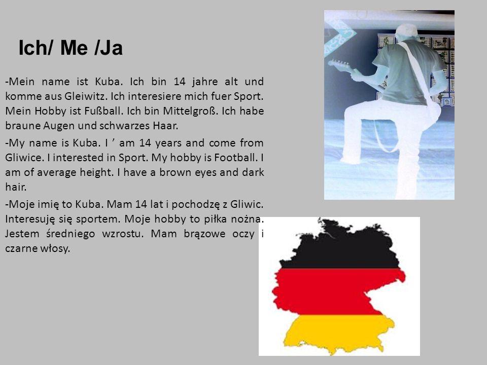 Ende/End/Koniec Jakub Zając, kl.2 b, Projekt z języka niemieckiego w klasie II.