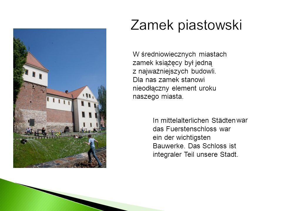 W średniowiecznych miastach zamek książęcy był jedną z najważniejszych budowli. Dla nas zamek stanowi nieodłączny element uroku naszego miasta. In mit