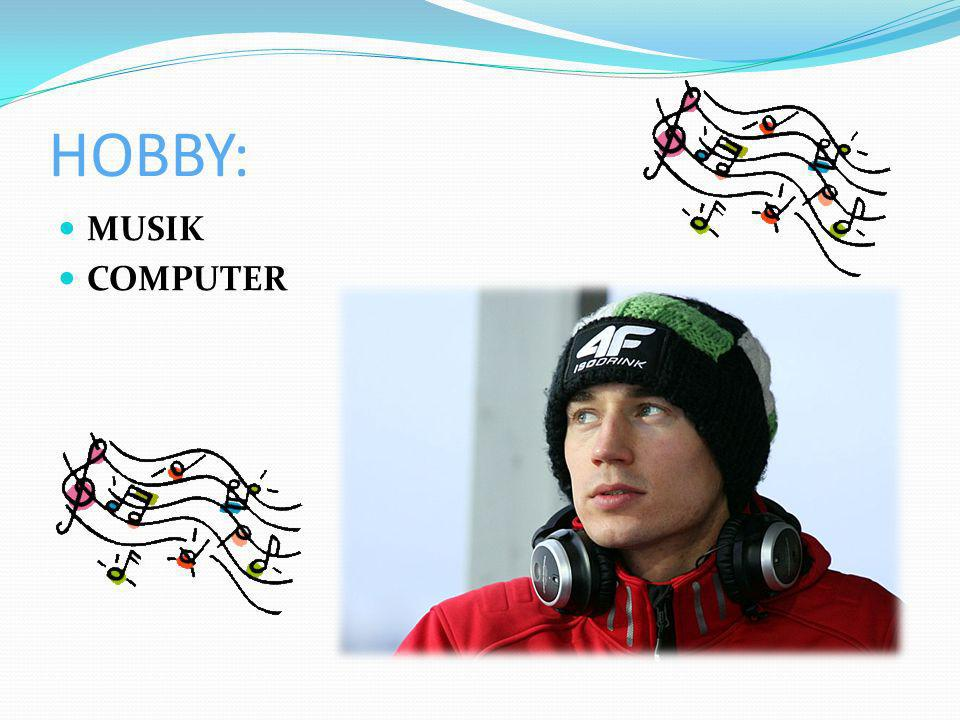 HOBBY: MUSIK COMPUTER