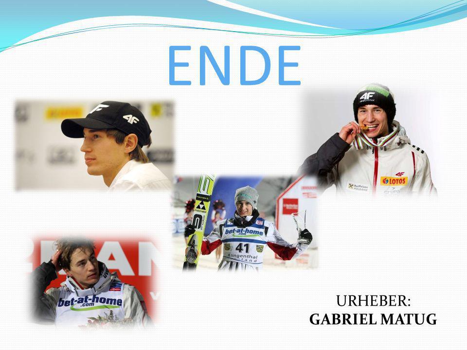 ENDE URHEBER: GABRIEL MATUG