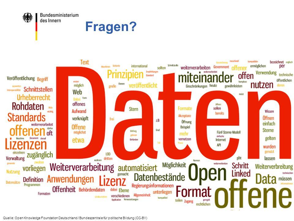 www.bmi.bund.de www.daten-deutschland.de 6 Fragen.