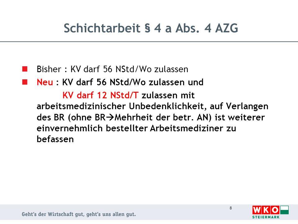 9 Arbeitsruhegesetz § 3 Abs.