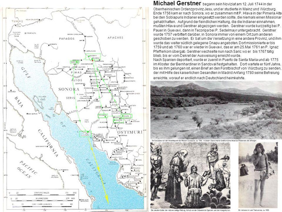 Michael Gerstner begann sein Noviziat am 12.