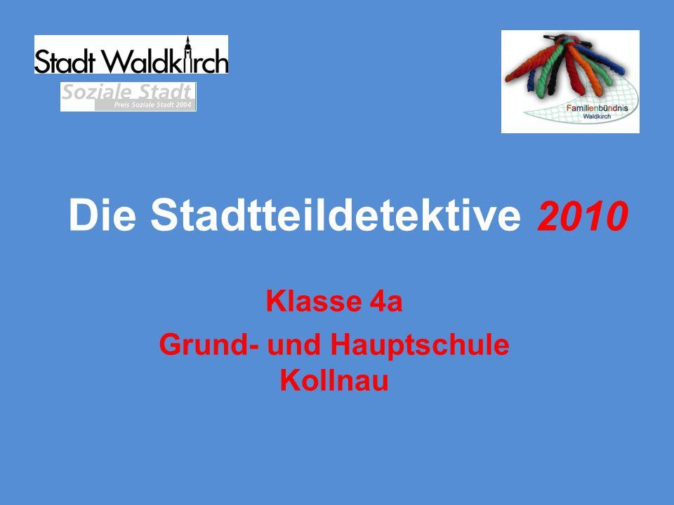 Einige Stadtteildetektive trafen sich auf dem Kirchenspielplatz in Kollnau.