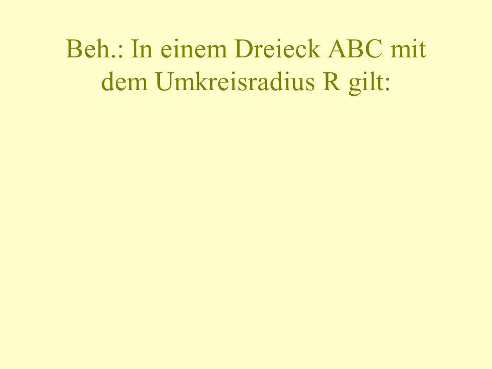 2.) Beh.: