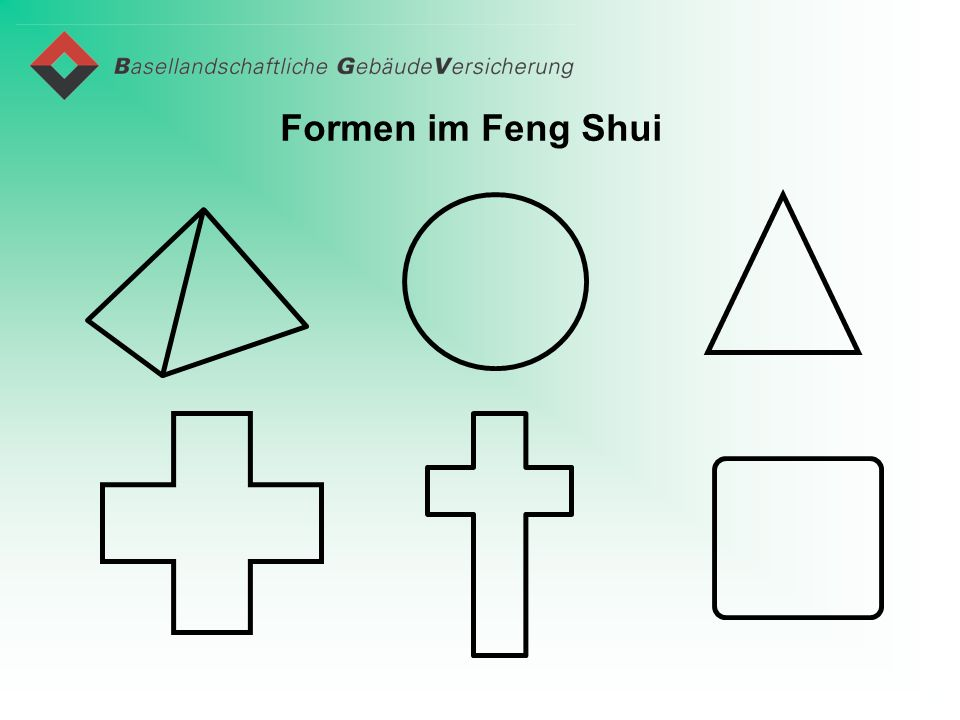 Formen im Feng Shui
