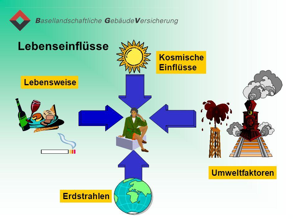 Lebenseinflüsse Erdstrahlen Umweltfaktoren Kosmische Einflüsse Lebensweise
