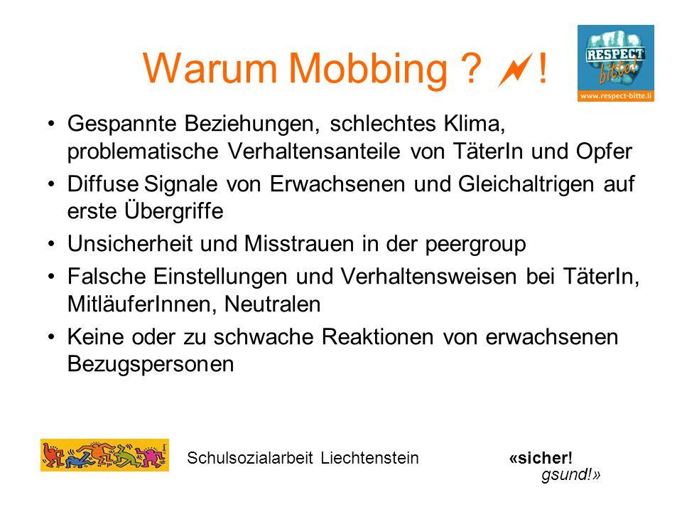 Warum Mobbing .