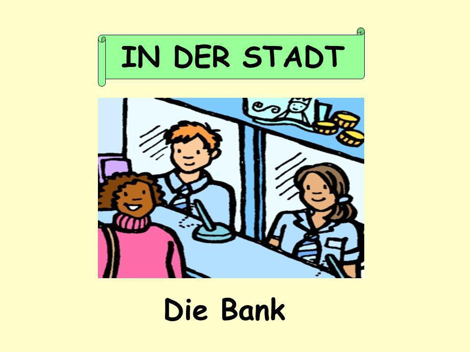 Die Bank IN DER STADT