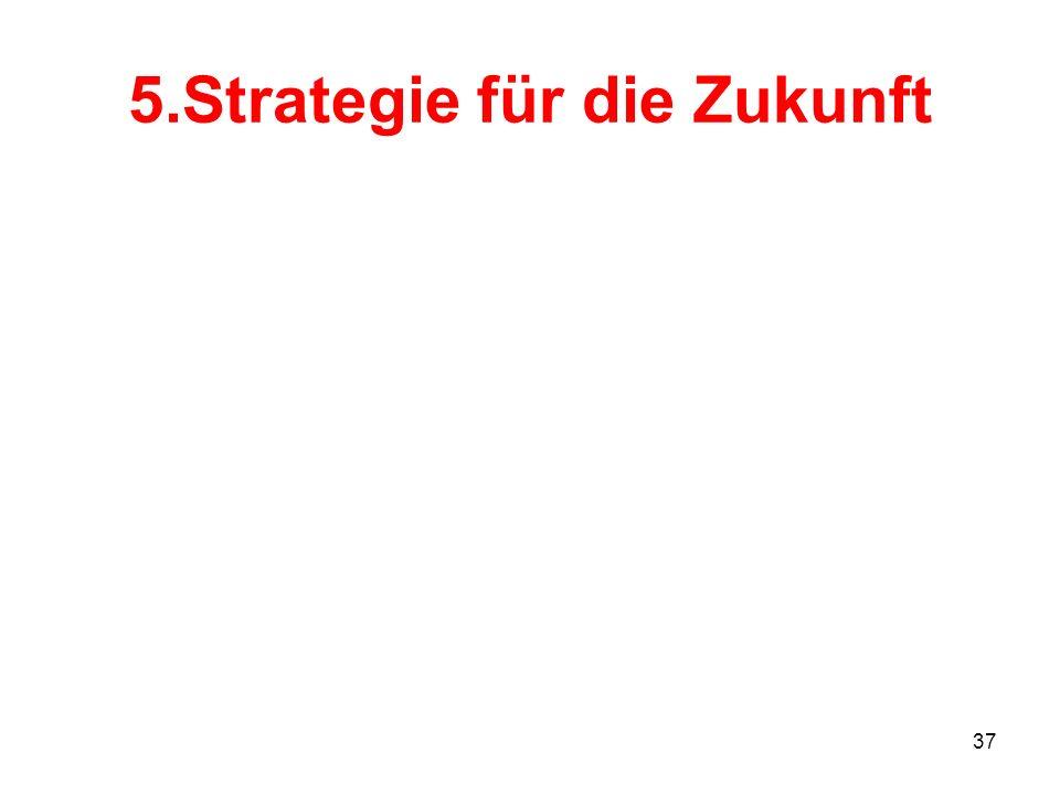 37 5.Strategie für die Zukunft