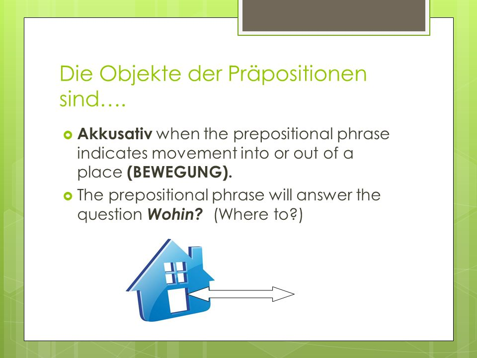 Heißer Tipp.Use stellen and stehen to talk about the placement and location of furniture.