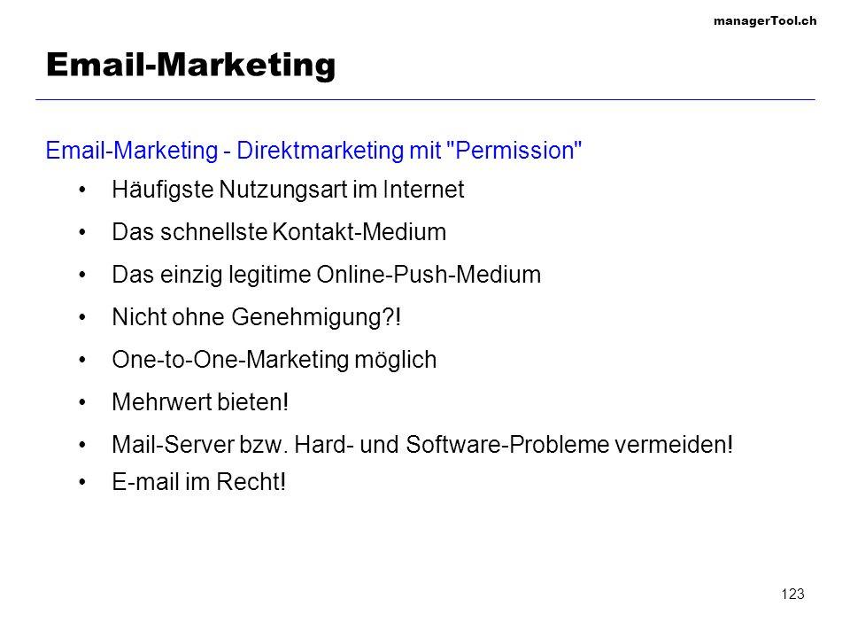 managerTool.ch 124 Email-Marketing: Adressen woher.