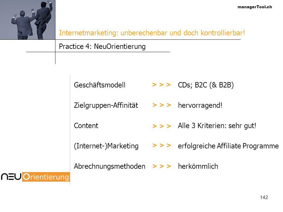 managerTool.ch 143 Die Struktur der Internet-Nutzer Quelle: Austrian Internet Monitor (AIM) 2002 %