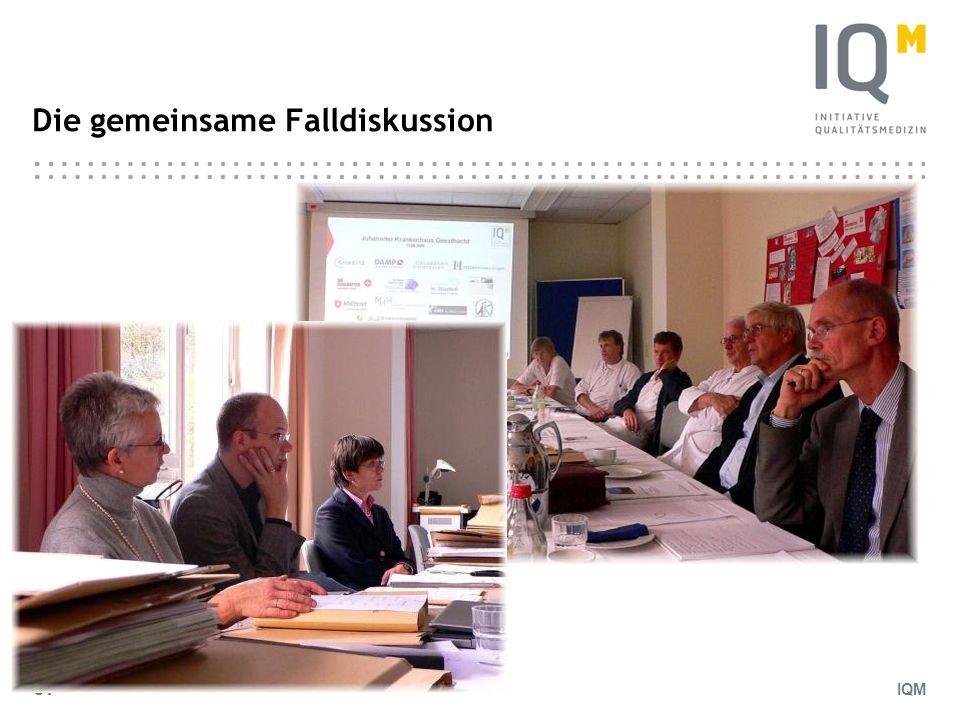 IQM 64 Die gemeinsame Falldiskussion